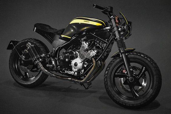 MAJOR LASER. Wrench Kings' 'WarZone' Yamaha XJ Apocylapse Scrambler