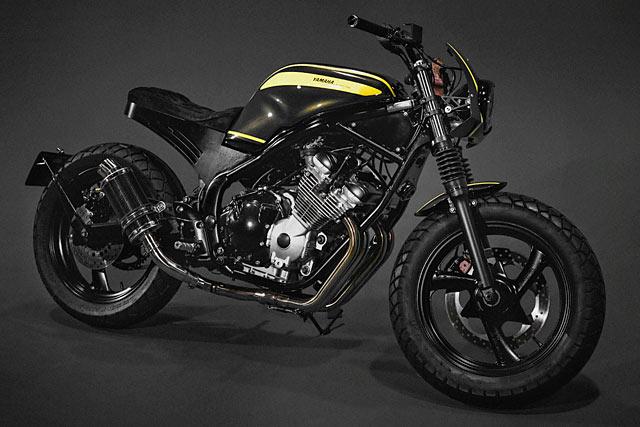 nok MAJOR LASER. Wrench King's 'War Zone' Yamaha XJ Apocalypse  SB43