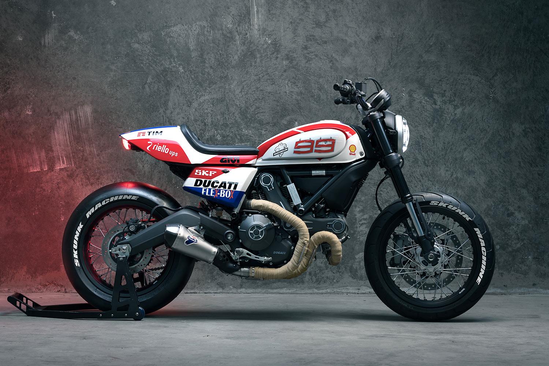 Ducati Scrambler Track Bike