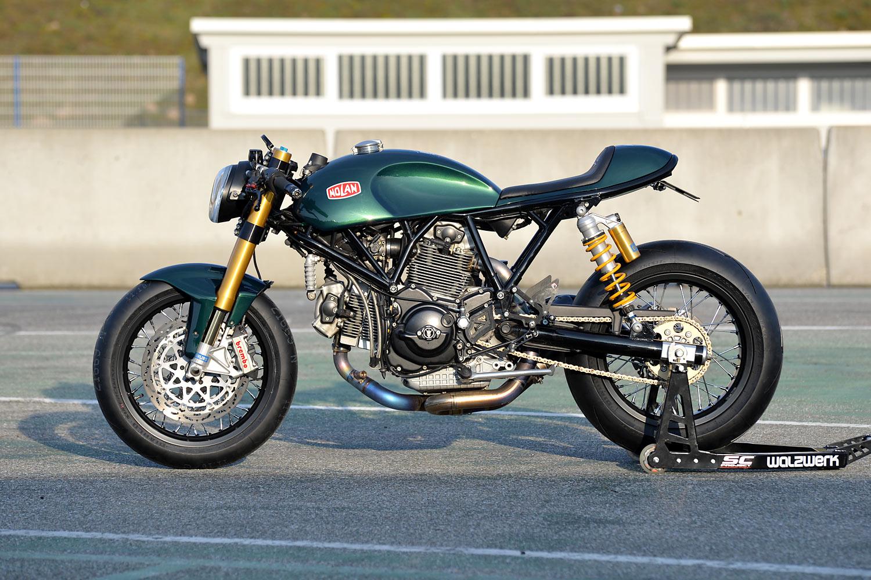 Winning By A Head Walzwerks Nolan Ducati Sportclassic Cafe Racer