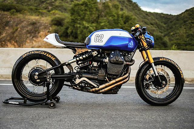 LUCKY PUNK. A Moto Guzzi V7 Racer from Lucky Customs