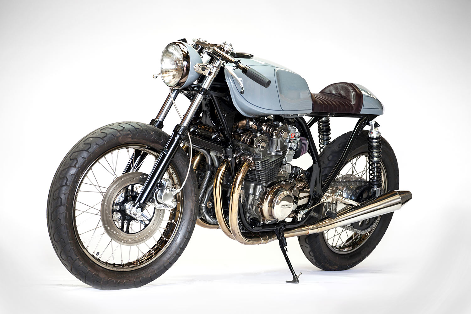 Ten Buck Coffee Kott Motorcycles 79 Honda Cb750 Cafe Racer 1970 Cb750f 2 From Californias A Sublime Transformation Of 1979 Dohc