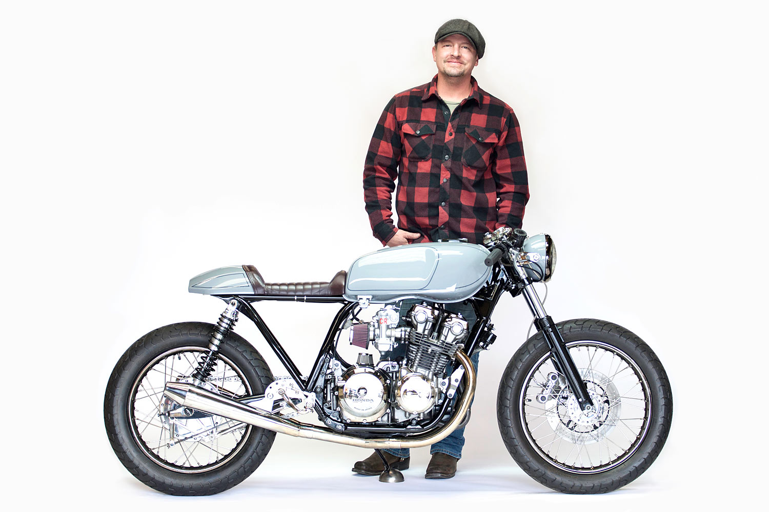 Or you can jump the queue and win it all for just $10 by heading over to their website and grabbing a raffle ticket to call this incredible Honda cafe racer ...