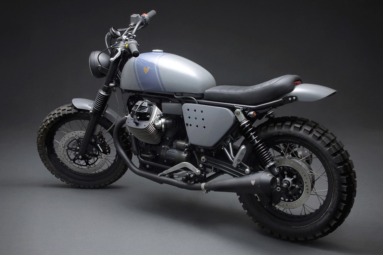 VENIER, VEDI, VICI. Venier Motorcycles' Moto Guzzi V7