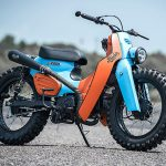 NEW DIRTY BASTARD. K-Speed's Hip Hop Honda Super Cub Scrambler