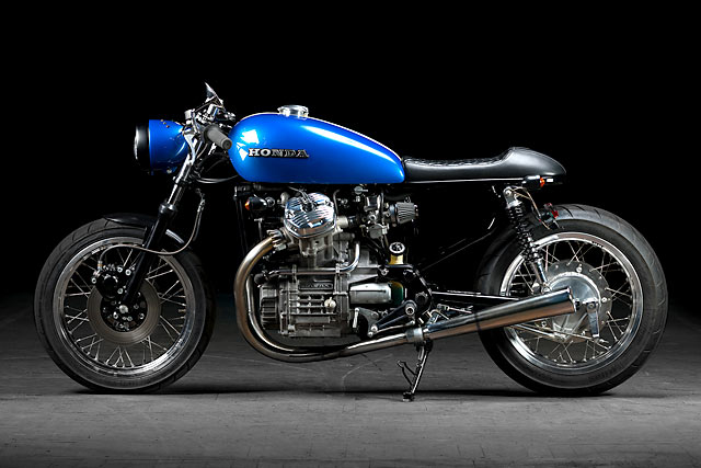 From the remains of a 1978 Honda CX500, he's crafted a classic cafe racer to rip the roads from the Alps to the Adriatic.