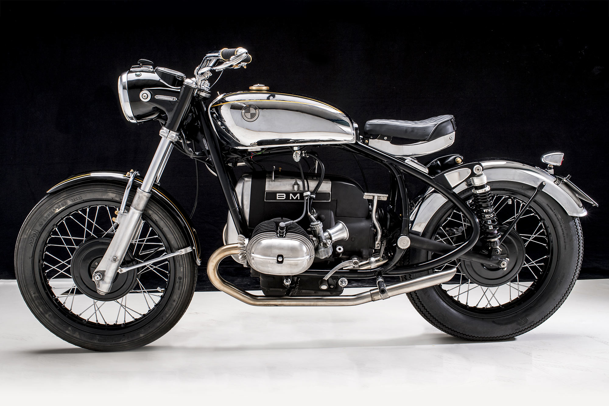 THE ONE AND ONLY  Emporio Elaborazioni's 'Solo' BMW R50/5