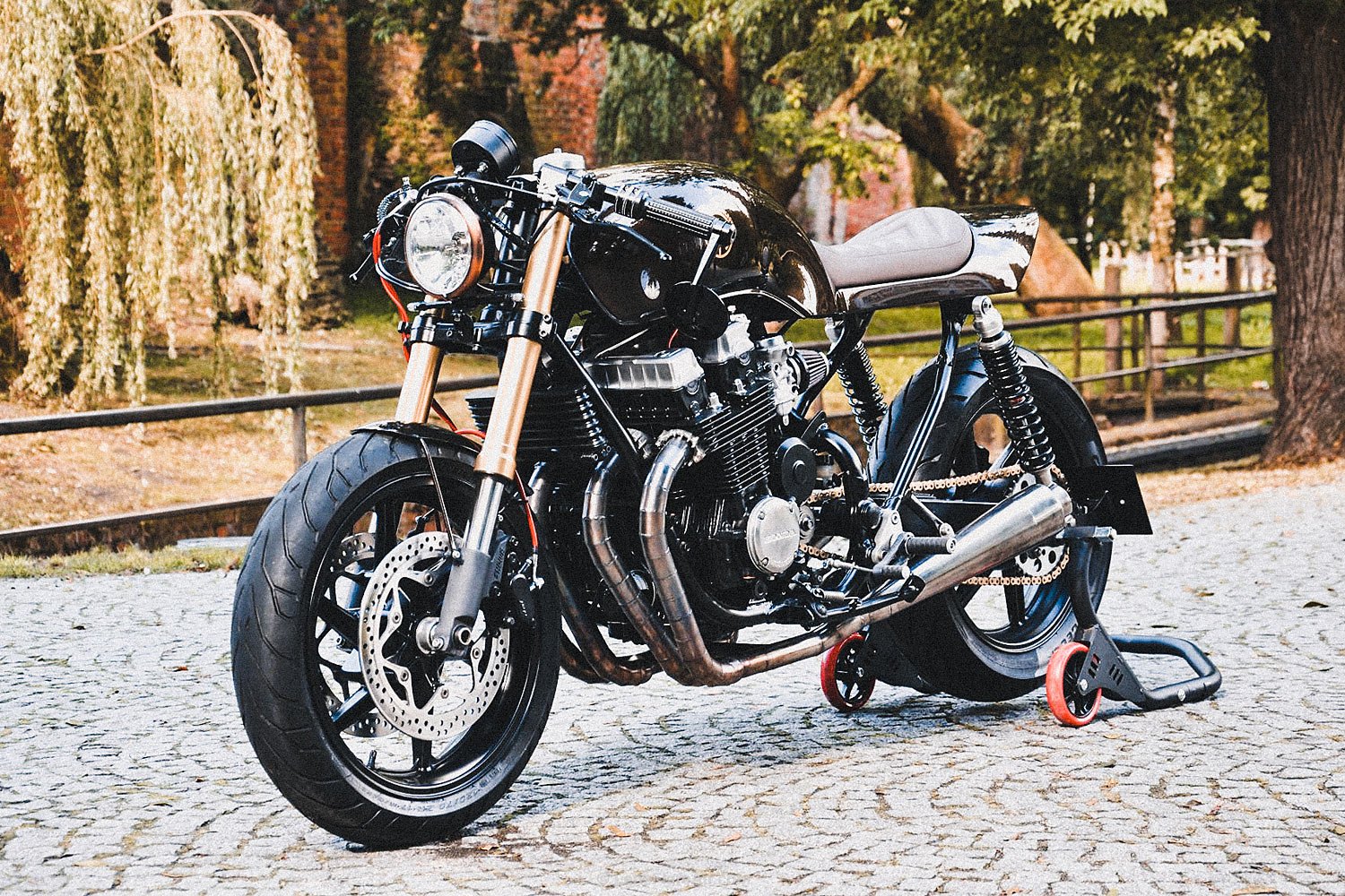 Delightful Lukasz Brewus Gives Us An Insight Into How The Family Approach Business In  The Custom Scene U201cMotorcycles Are Not The Only Way To Make Money, ...