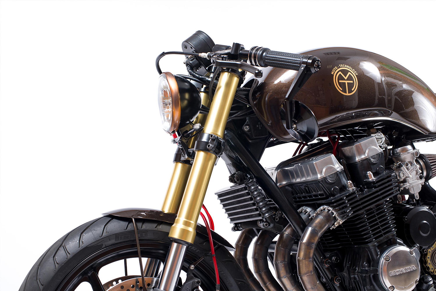 FASTER & SON  A Honda CB750 Cafe Racer from MT Customs