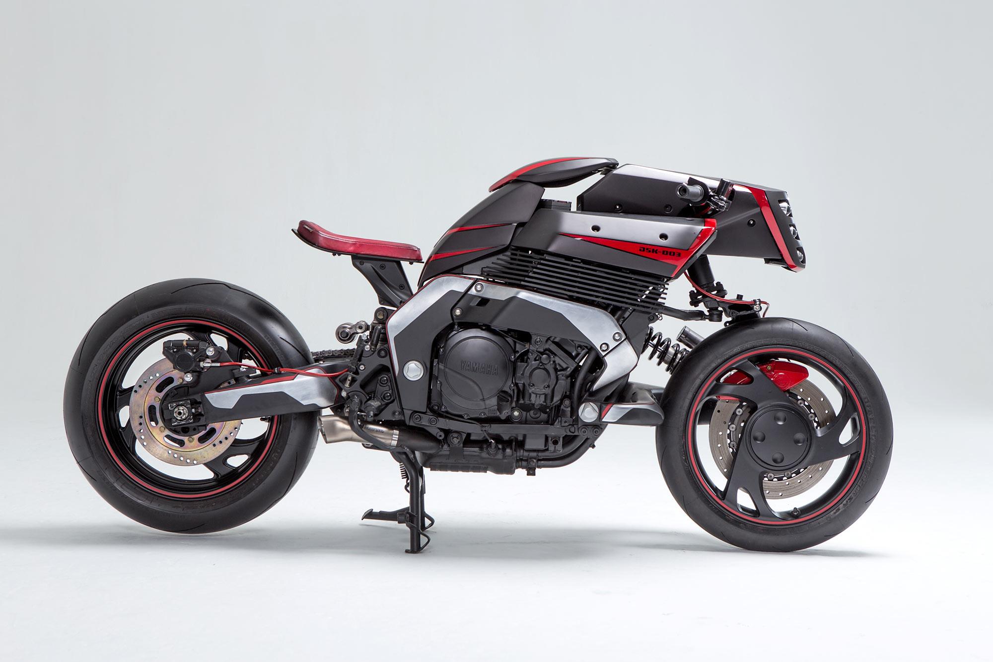 Yamaha Gts Cafe Racer
