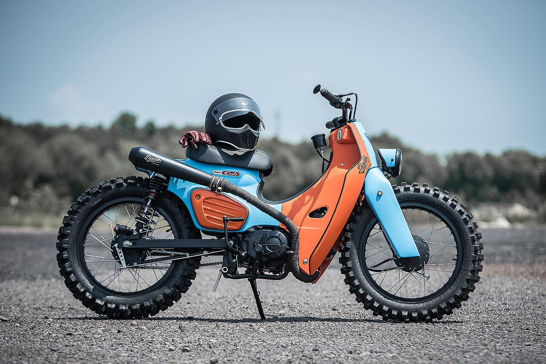 Build A Honda >> NEW DIRTY BASTARD. K-Speed's Hip Hop Honda Super Cub Scrambler - Pipeburn.com
