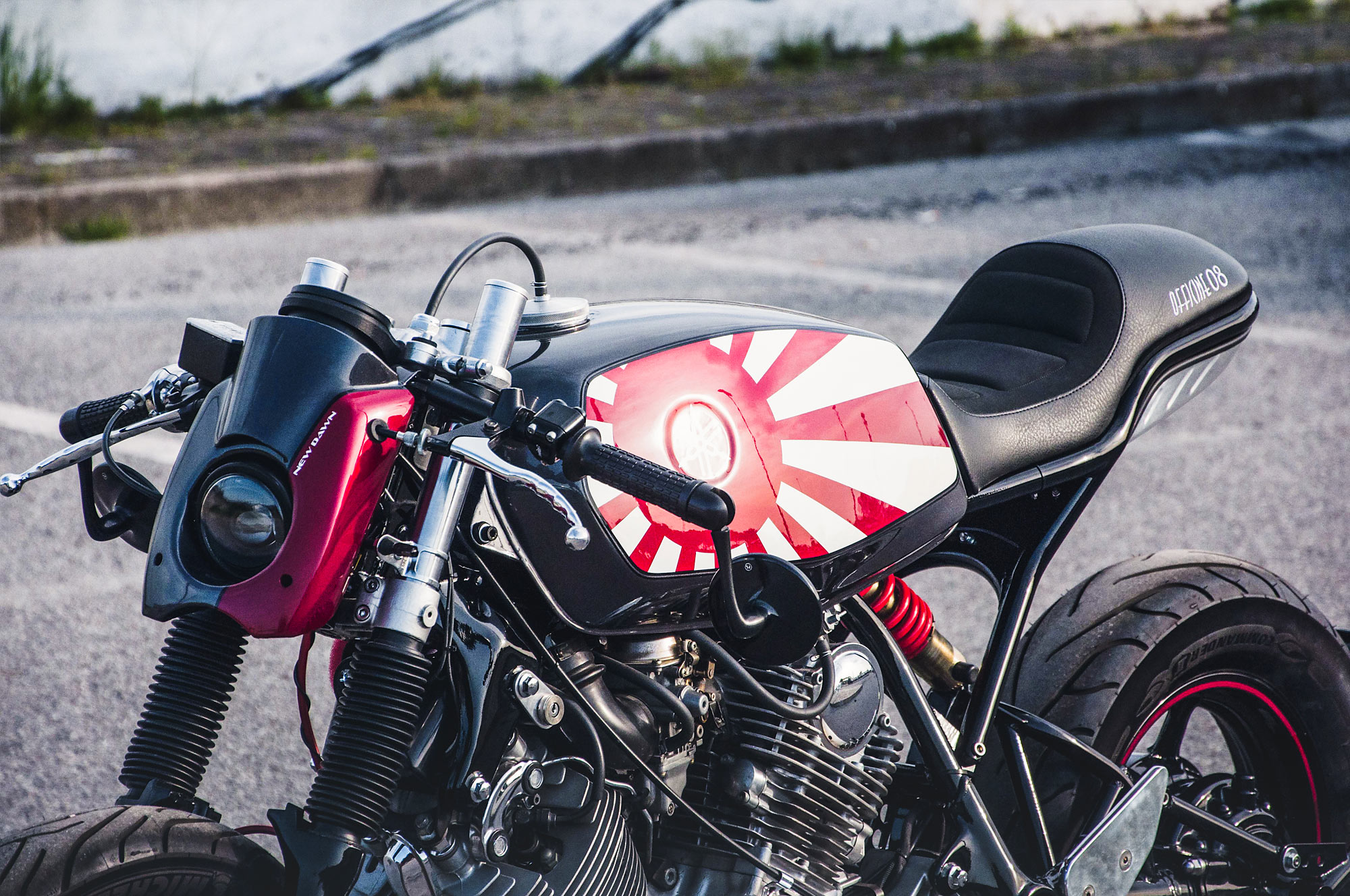 EMPIRE OF THE FUN  Officine 08's 'New Dawn' Yamaha XV750 Cafe Racer