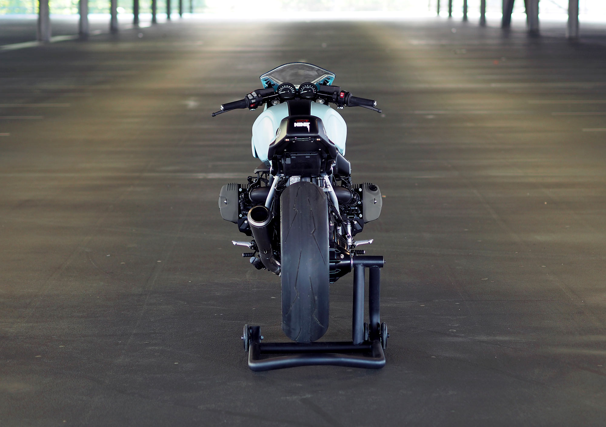 TWO MUCH  JVB Moto's BMW RnineT Racer - Pipeburn com