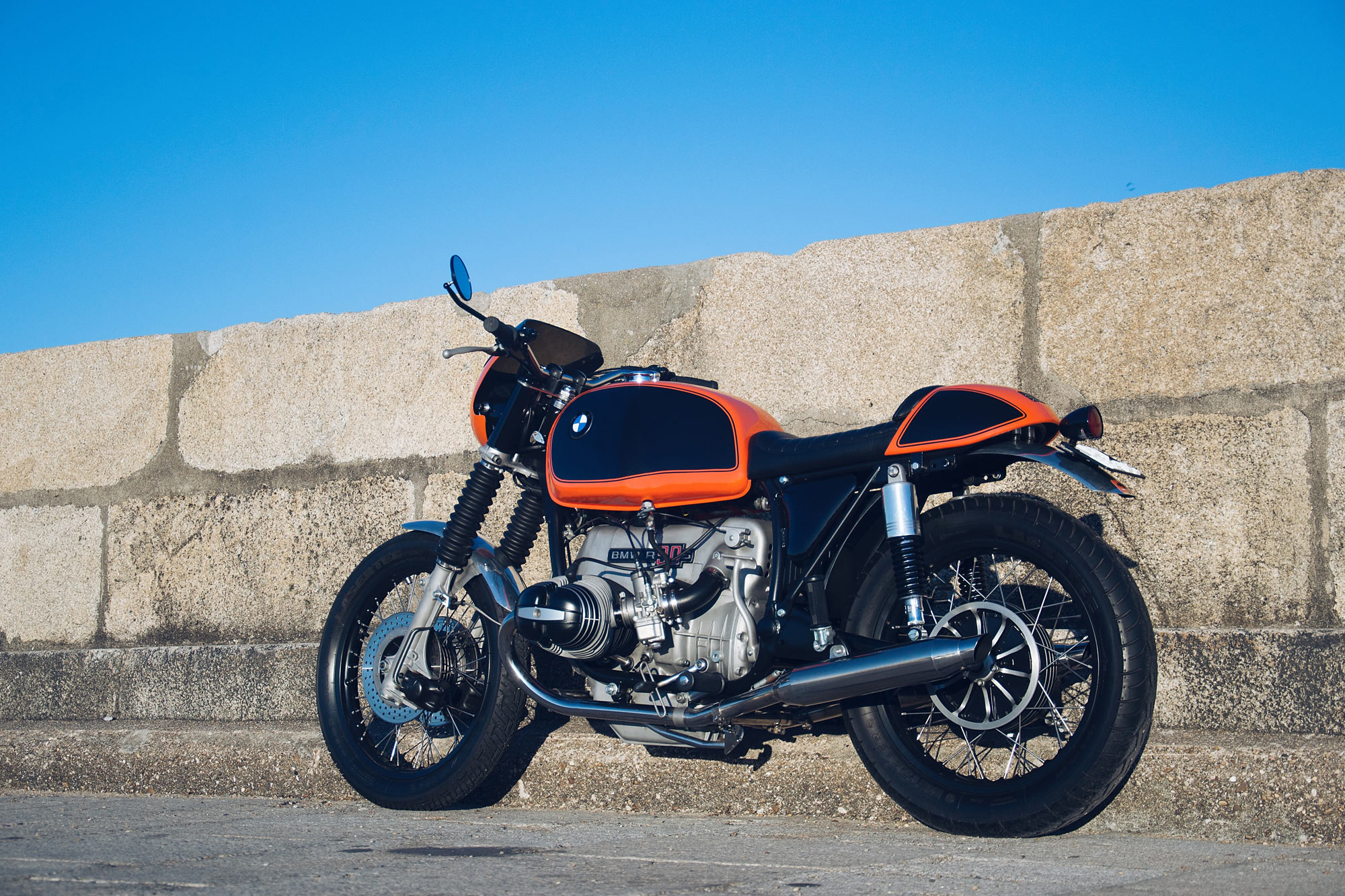 """""""Oporto Motor Works is my creation,"""" says shop owner, Steffen. """"I dreamt it up it for my customising and restoration projects. But it's not just 'another ..."""