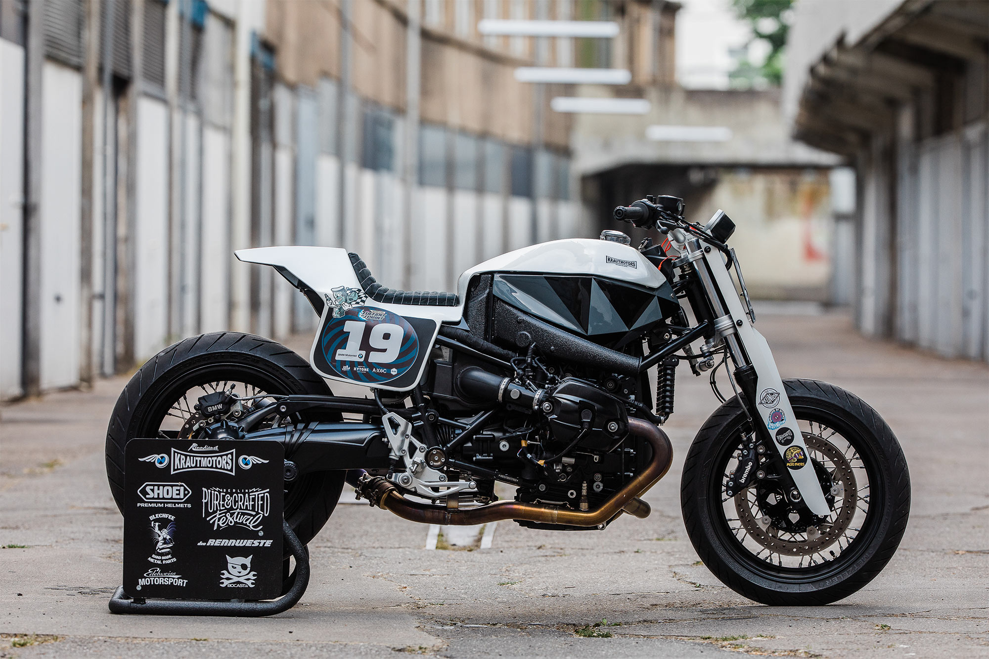 bring the noise krautmotor s little go beep bmw r ninet. Black Bedroom Furniture Sets. Home Design Ideas