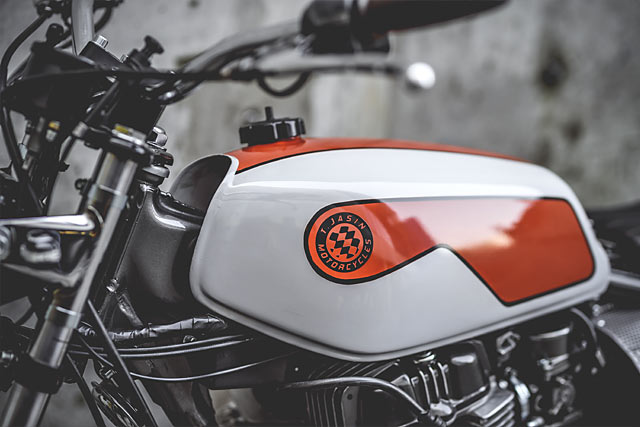 BITING THE DUST. T.Jasin Motorcycles' 'Barrel of Death ...
