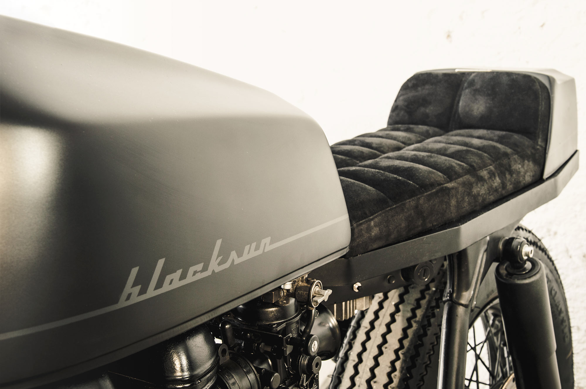 SHADOW OF A DOUBT  Alea Motorcycle's 'Blacksun' Triumph