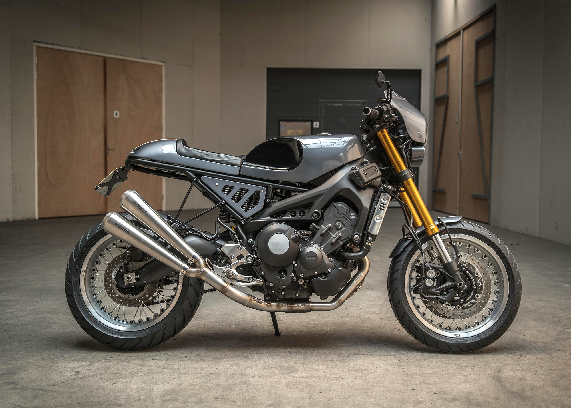 Ironwood Motorcycles Yamaha XSR900 Cafe Racer