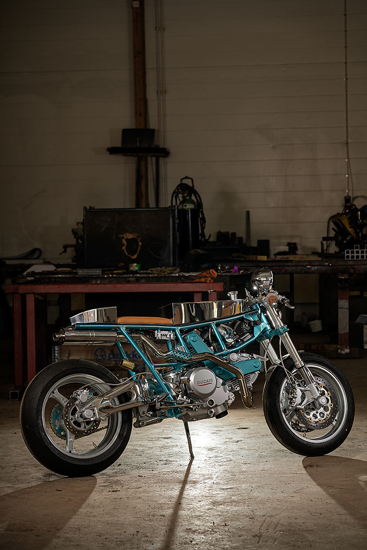 HIP TO BE SQUARE. Johan Balsvik's Sharp Ducati Pantah
