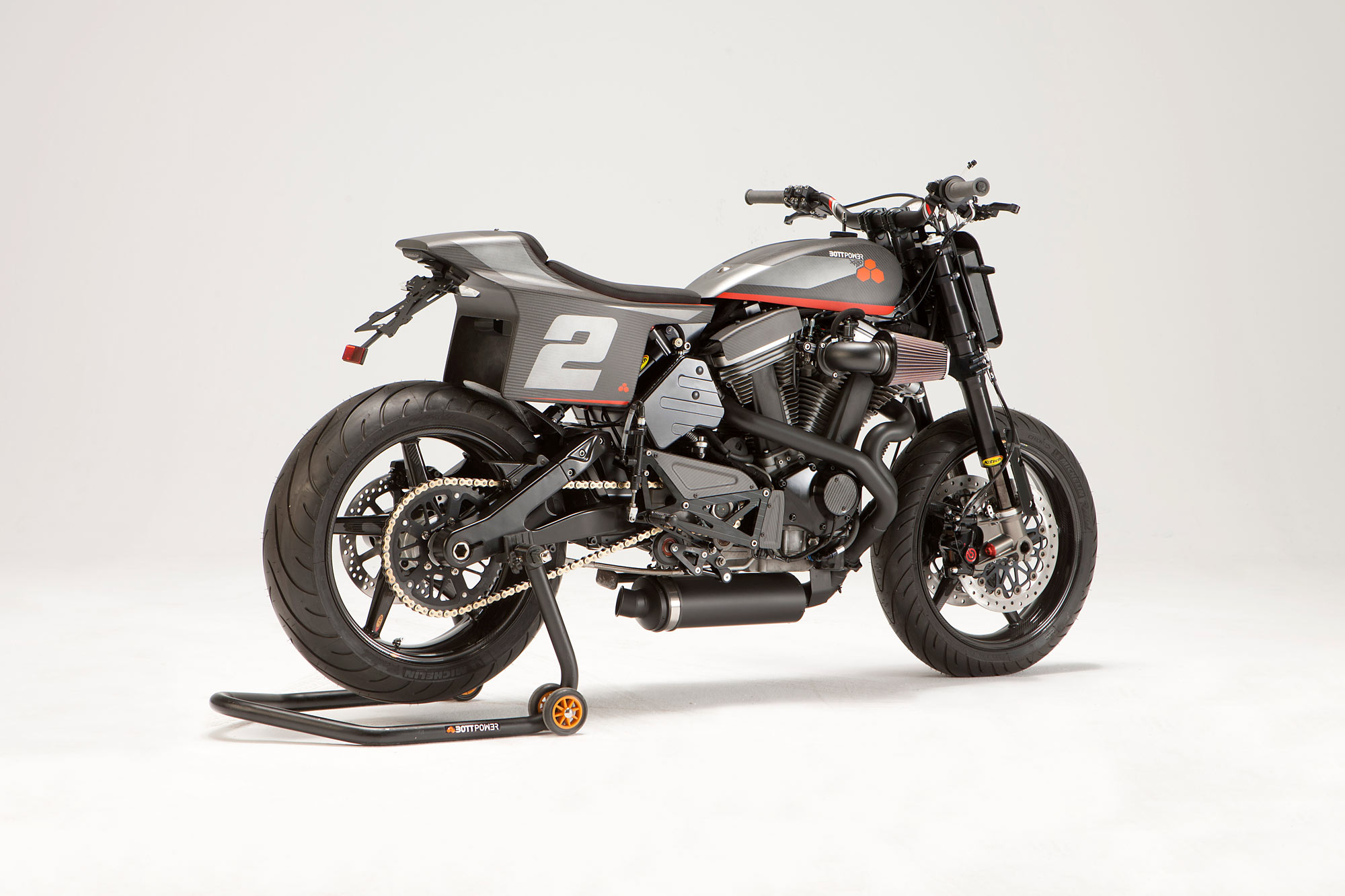 POWER AND THE PASSION  Bottpower's Buell Ulysses XR1R Racer