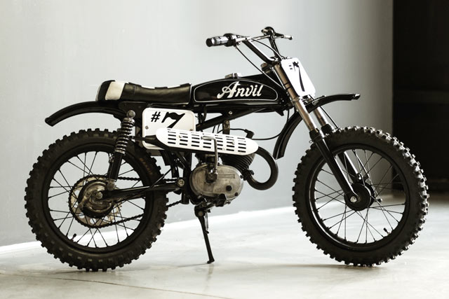 When Builders Thought That Scramblers Were Getting Old They Looked To 60s And 70s Enduro Motocross For Greener Pastures