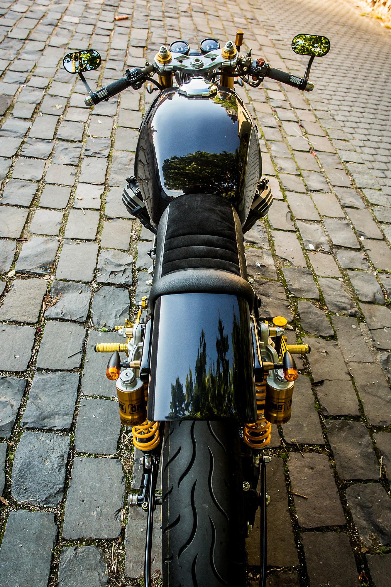 SLOVAKIAN PIE  Marek Bača's Immaculate '82 Honda CX500 Cafe Racer