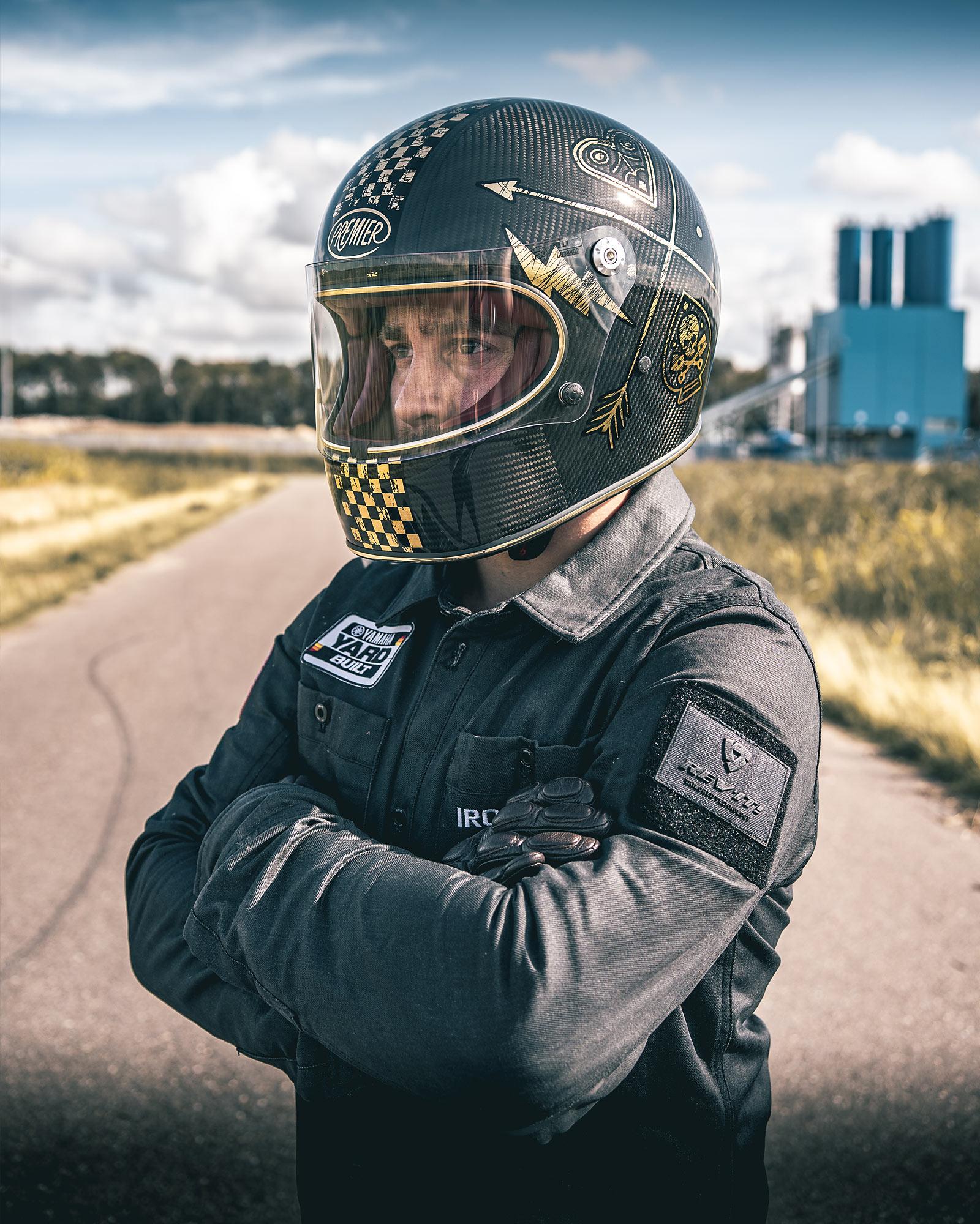 HIT AND RUN  Ironwood's 'Sicario' Yamaha XT600 Street