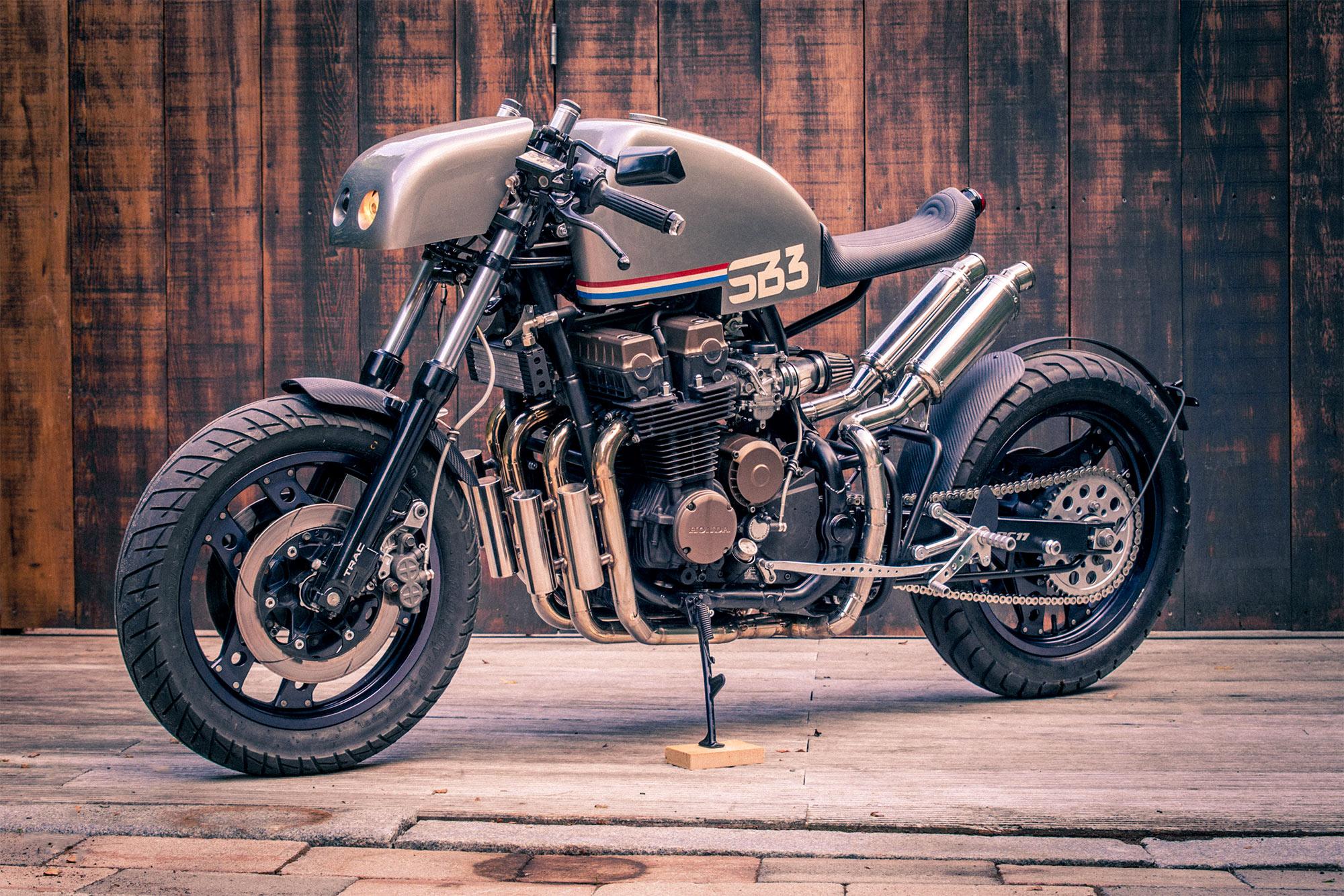ALIEN RACE. Signbike's 'SB3' Honda CBX750F Cafe - Pipeburn.com