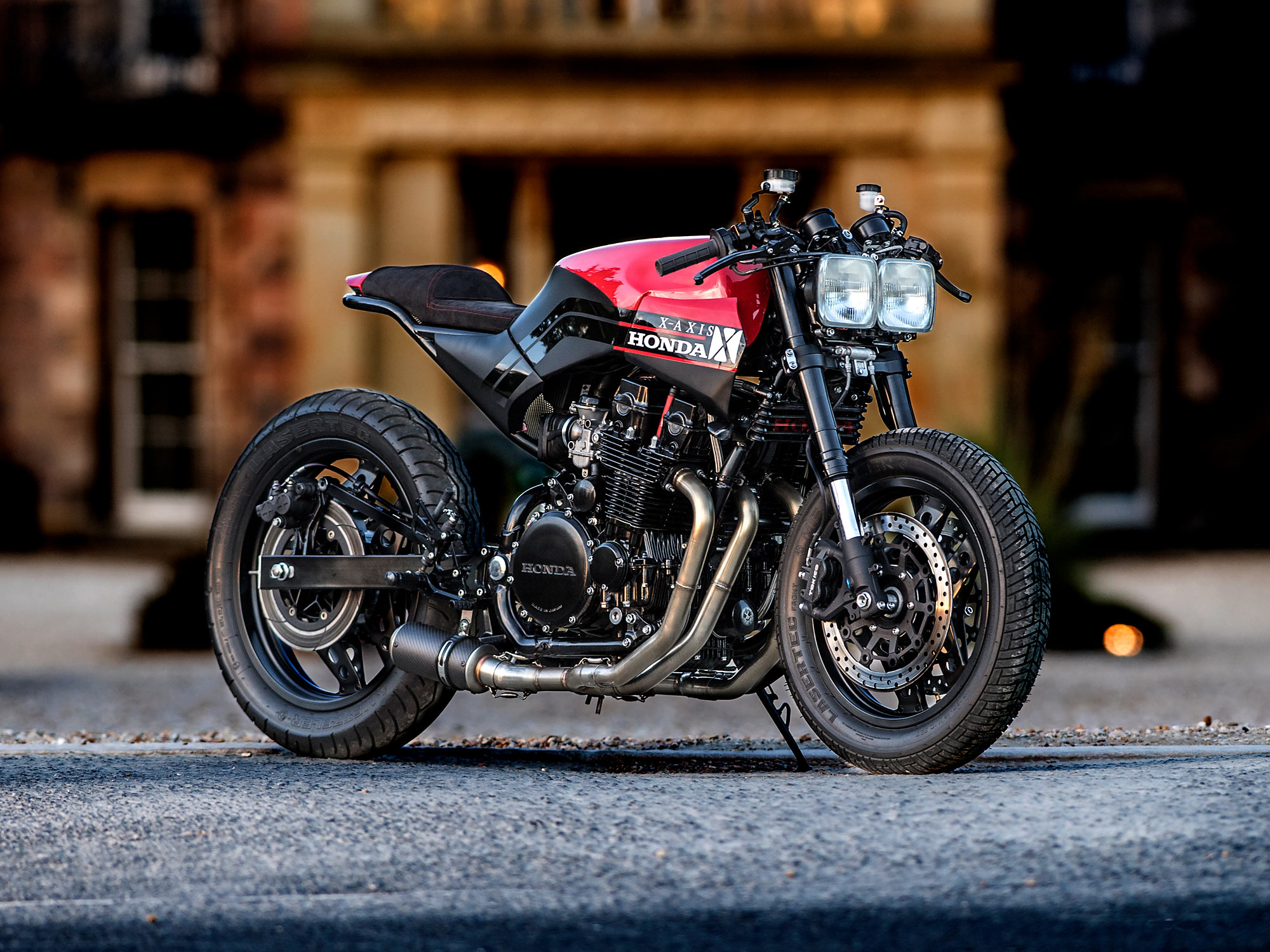 a honda cbx750 cafe racer from x-axis