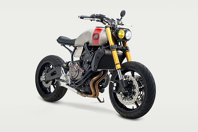 KID SKIDS. Classified's Faster Sons Yamaha FZ-07R