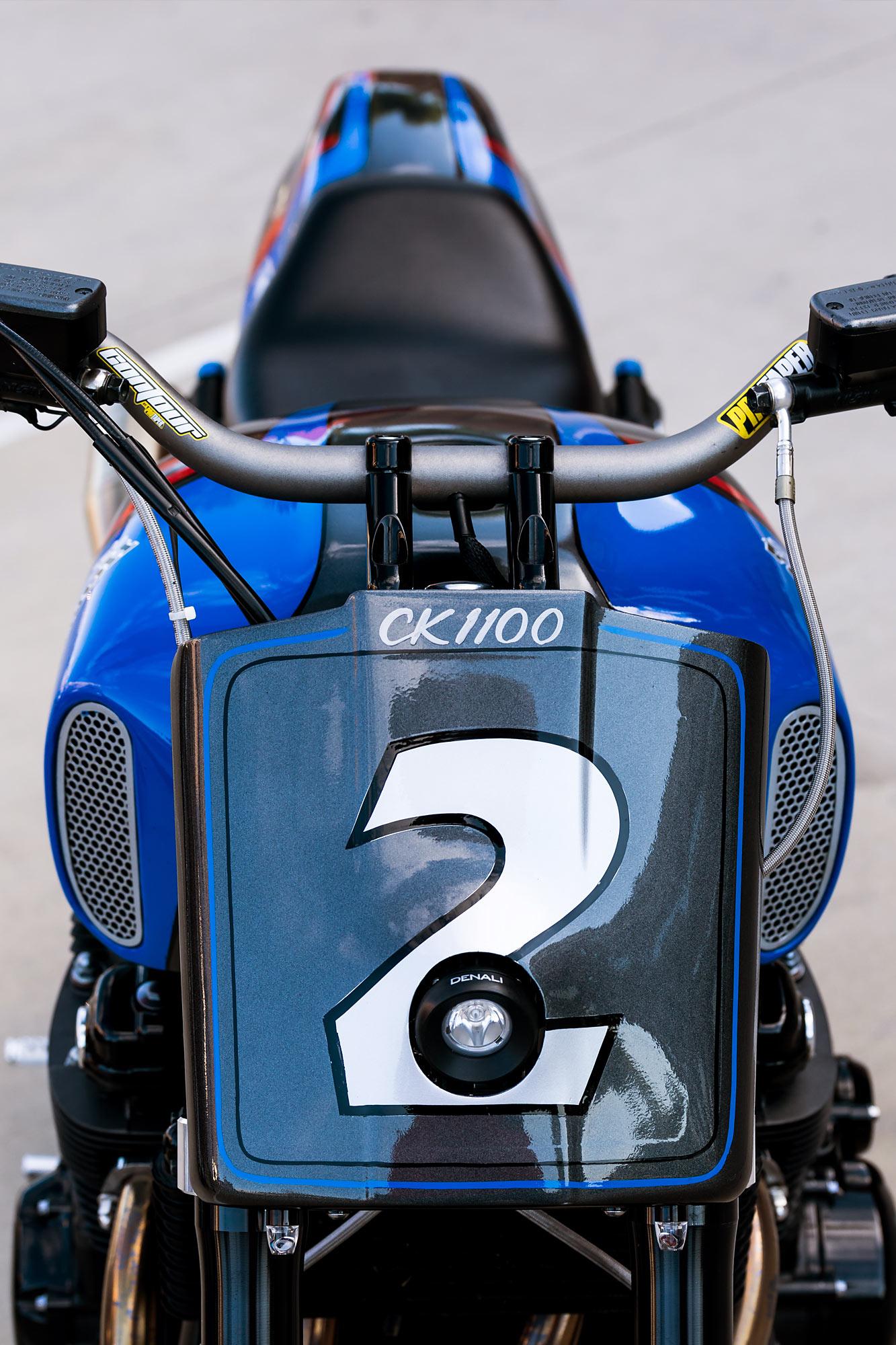 COLORADO CLIMBER  Chris Kent's Honda CB1100 Pikes Peak Racer
