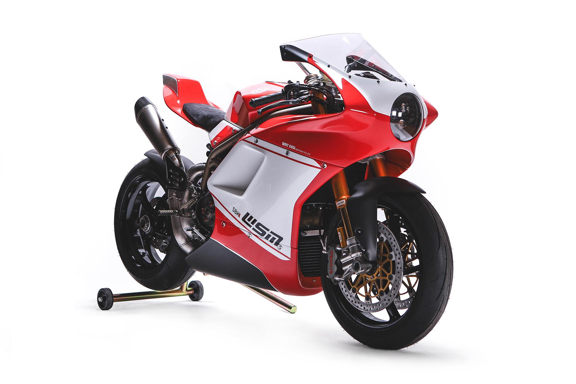Red Shift Walt Siegl S Brutal Wsm Sbk Custom Ducati