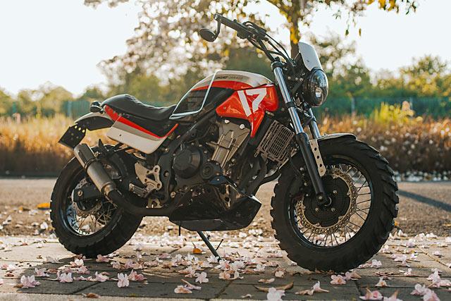 Seventeen Samurai Smoked Garage S Rōnin Honda Cb500x Off Road Racer Pipeburn