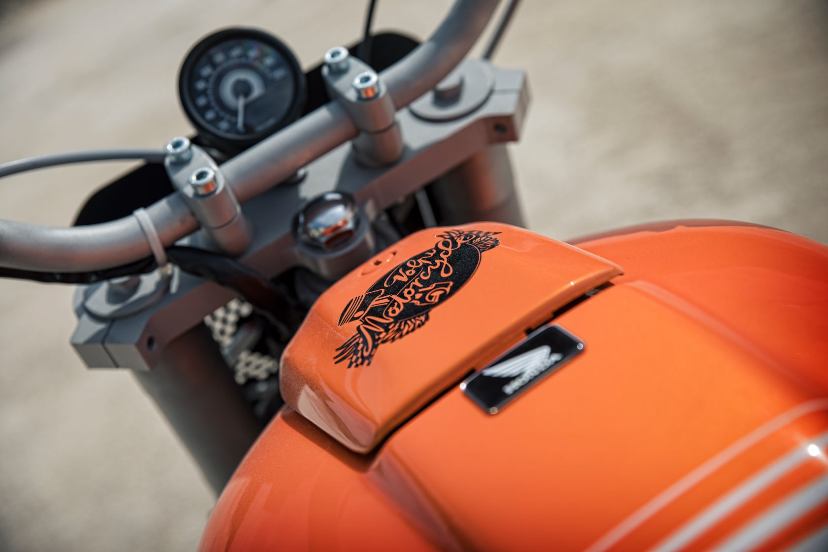 Avignon And On Volpi Motorcycles Honda Cb350 Tracker Pipeburn Com
