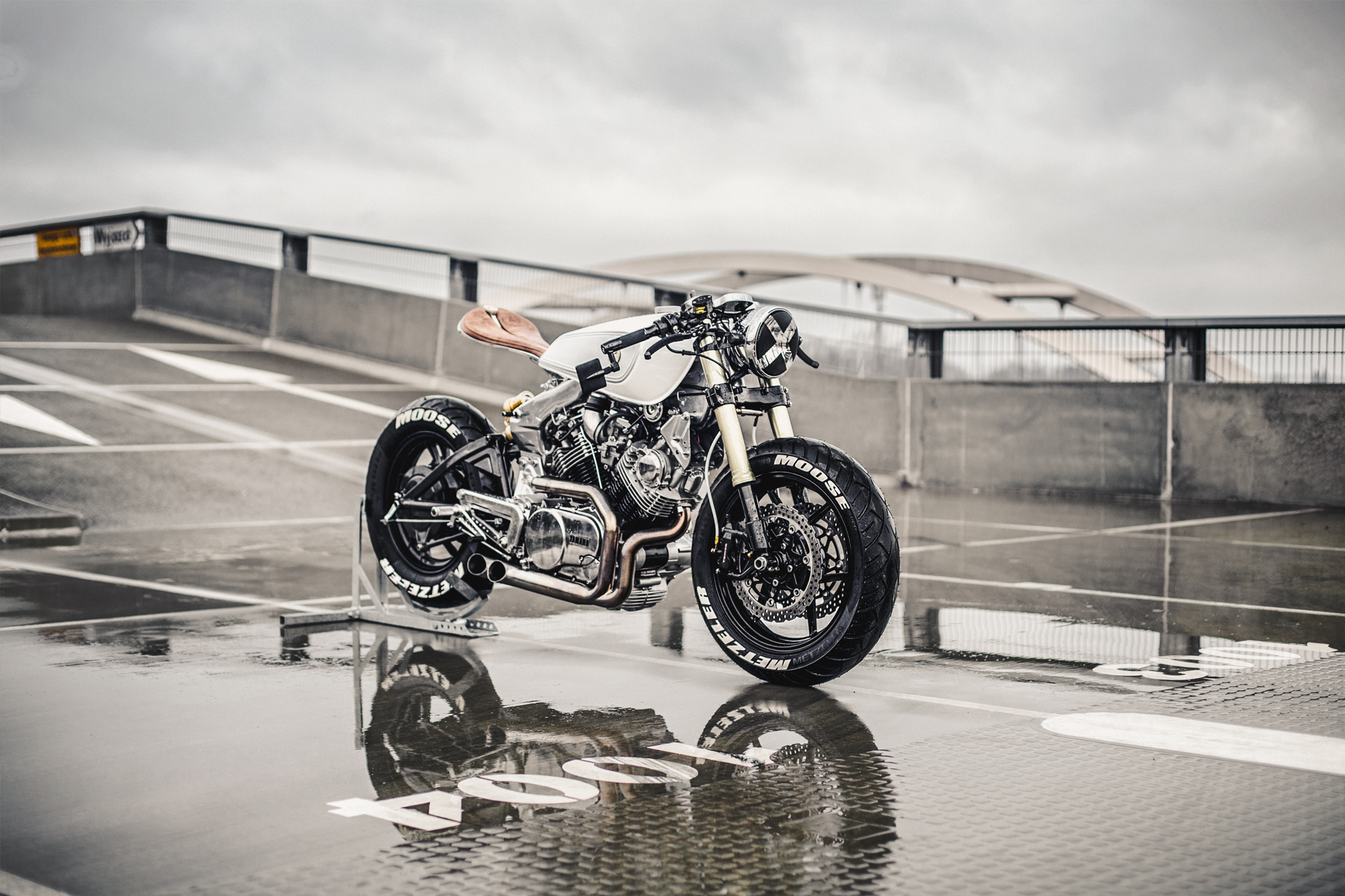 HERD MENTALITY  Two Yamaha XV Cafe Fighters from Moose Motodesign