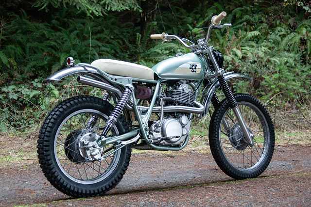 forrest thump red clouds twin yamaha xt500 enduros. Black Bedroom Furniture Sets. Home Design Ideas
