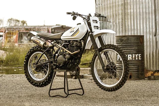 Animal Farm  Purpose Built Moto's Yamaha XT250 MX Scrambler