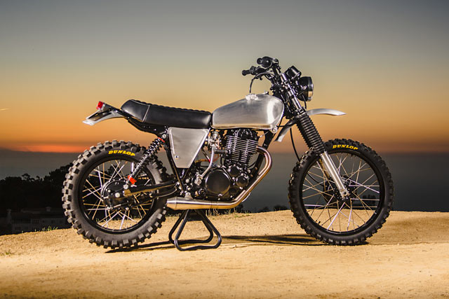 ESCAPE FROM L.A. Ride Custom's Yamaha XT500 Urban Enduro