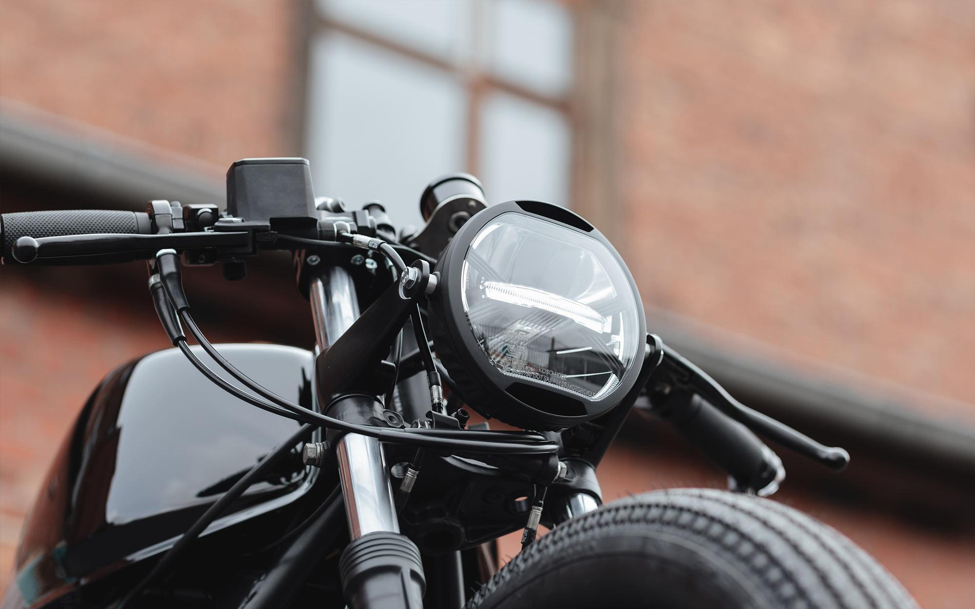 BIRD OF PRAY. Hookie's Evil 'Crow' Honda CB750 Cafe Racer