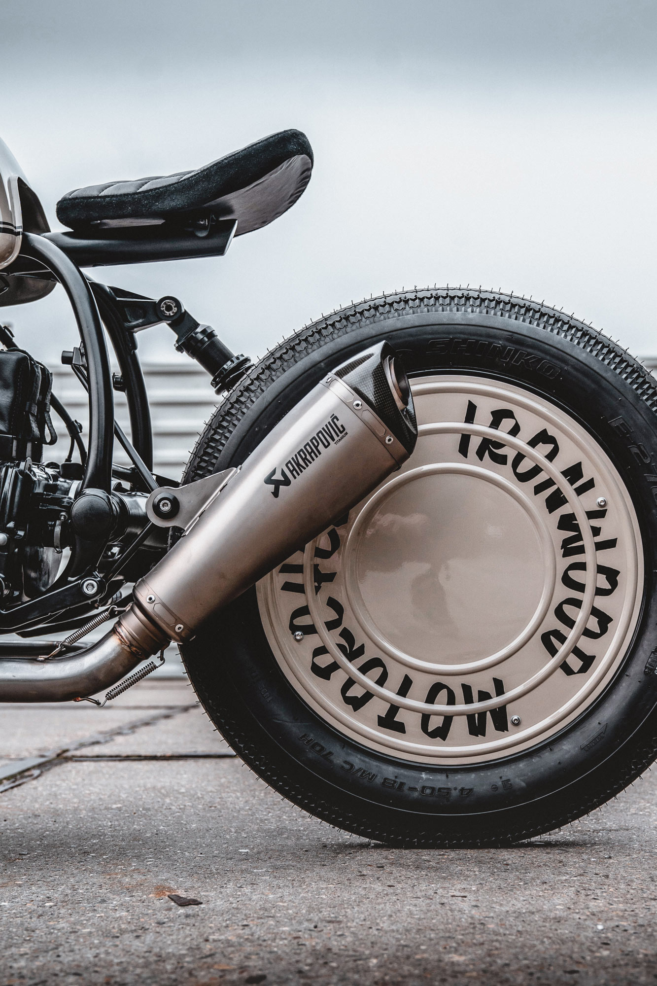 This Custom Bmw R80 Bobber Makes Coffee And Star Wars A Dynamic Duo