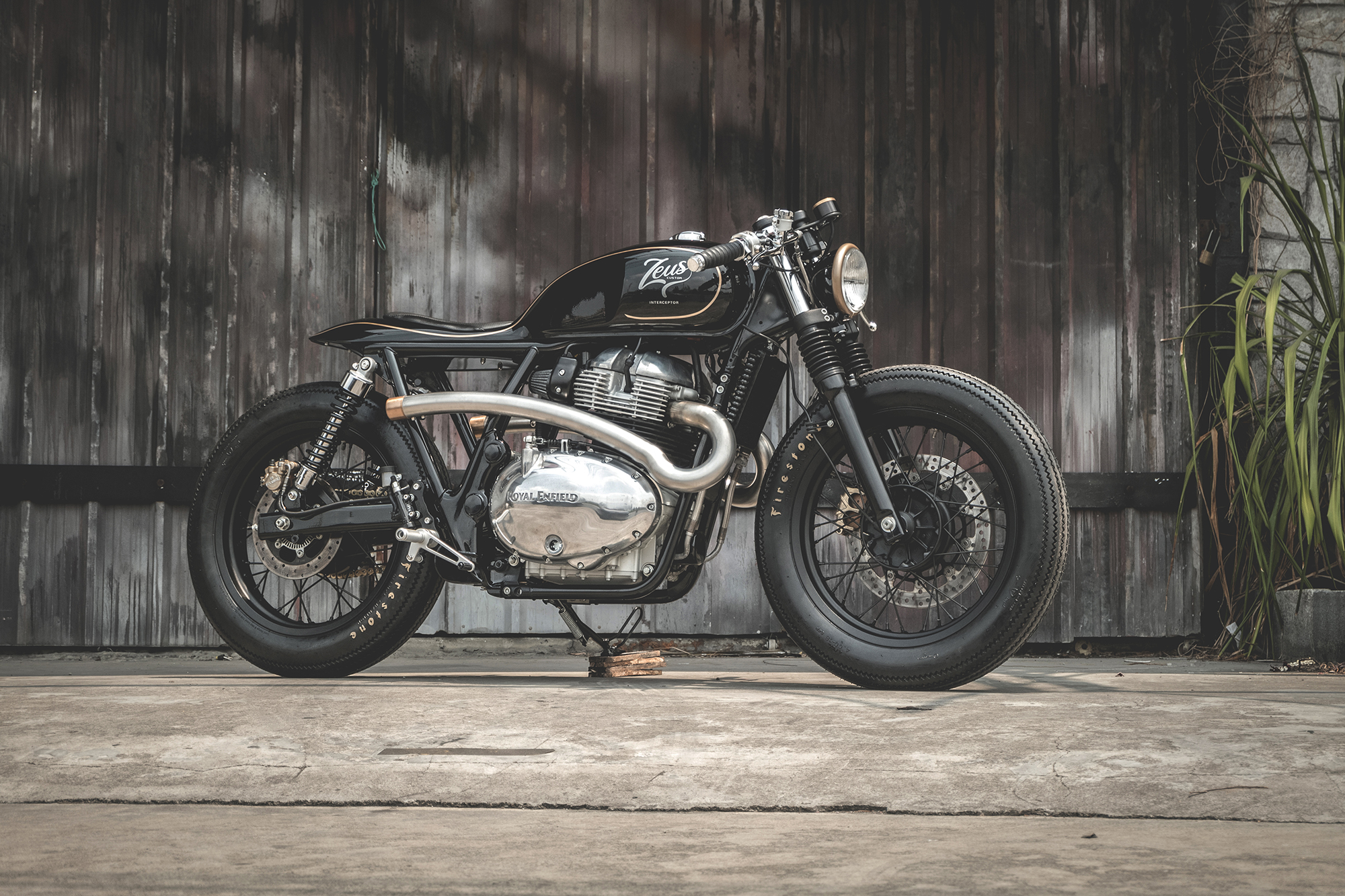 THE PRIME PROJECT' - Royal Enfield Interceptor x Zeus