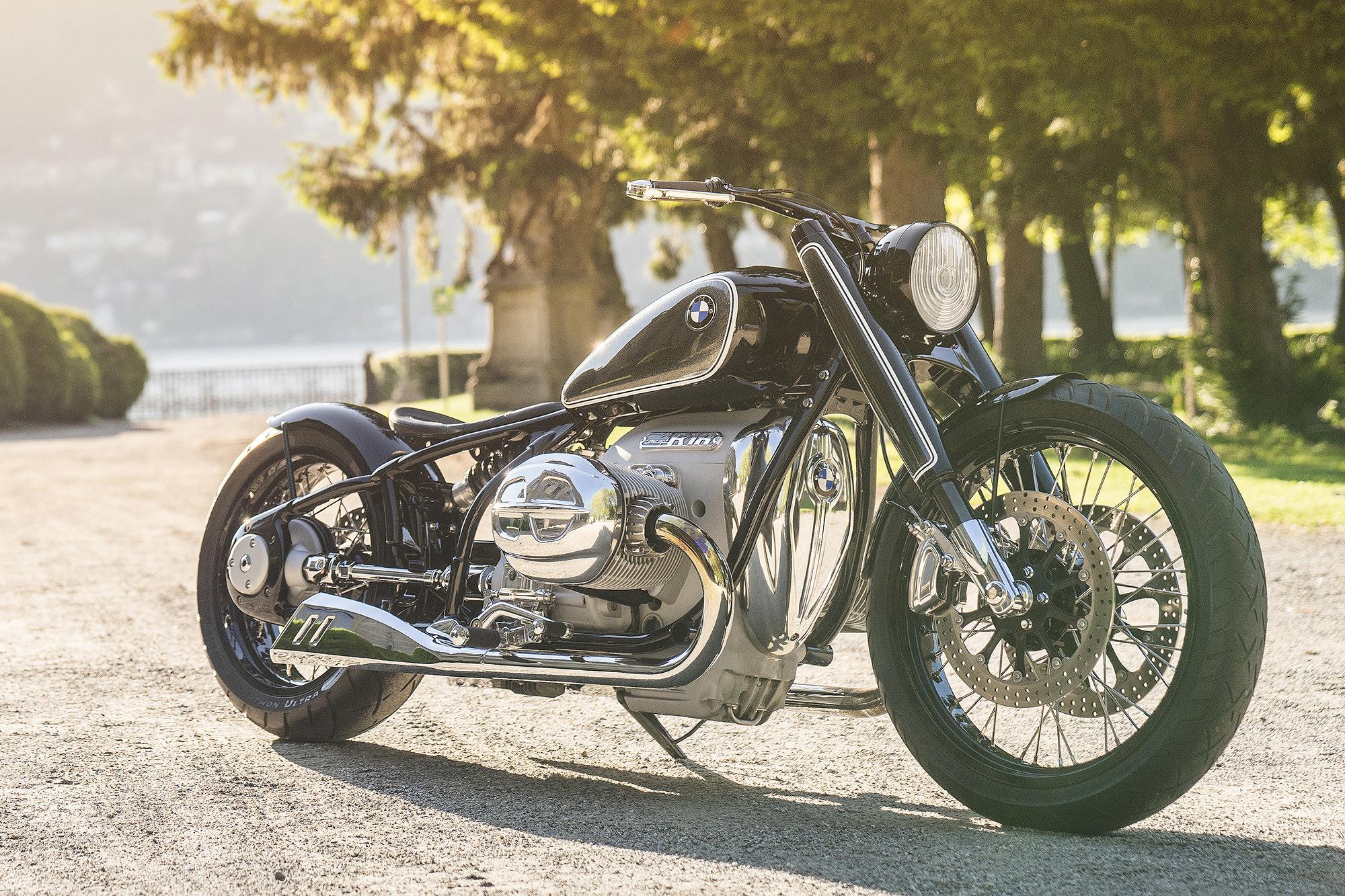 Back To The Future Bmw Motorrad Concept R18 Pipeburn Com