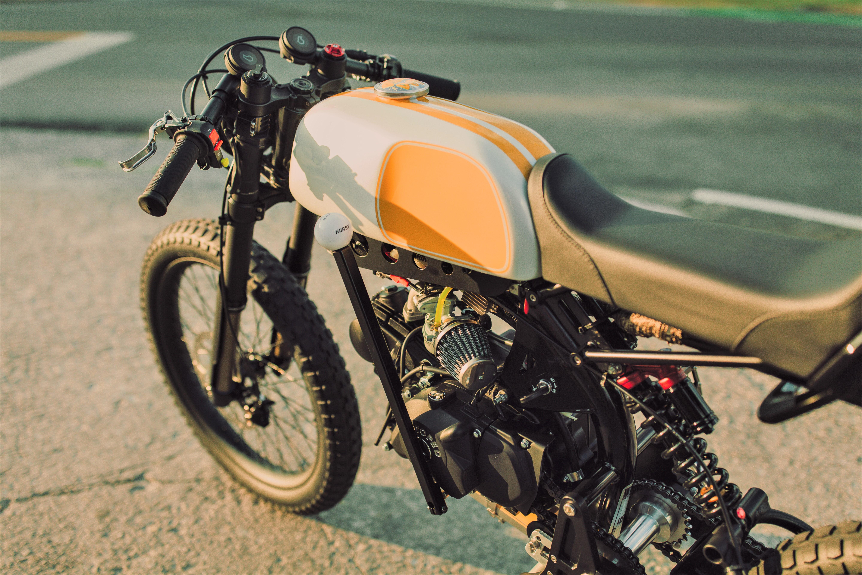Killer Moped Daisy Duke 2018 Motoped Cafe Pipeburn