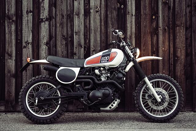 SUPERSIZED. Yamaha XT1100 by Slowbuilt.