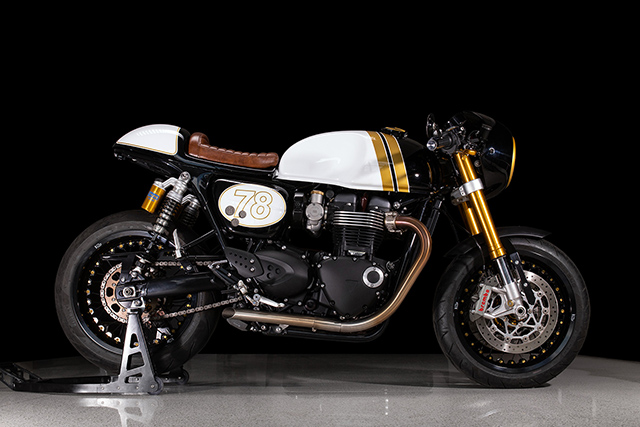 PURVEYORS OF STYLE: Triumph Thruxton R by Untitled Motorcycles