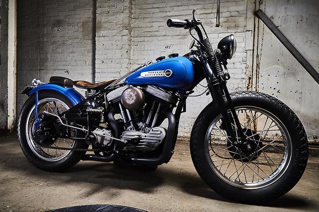VINTAGE VIBES: 2002 Harley-Davidson Sportster 'Taranis' - Pipeburn.com