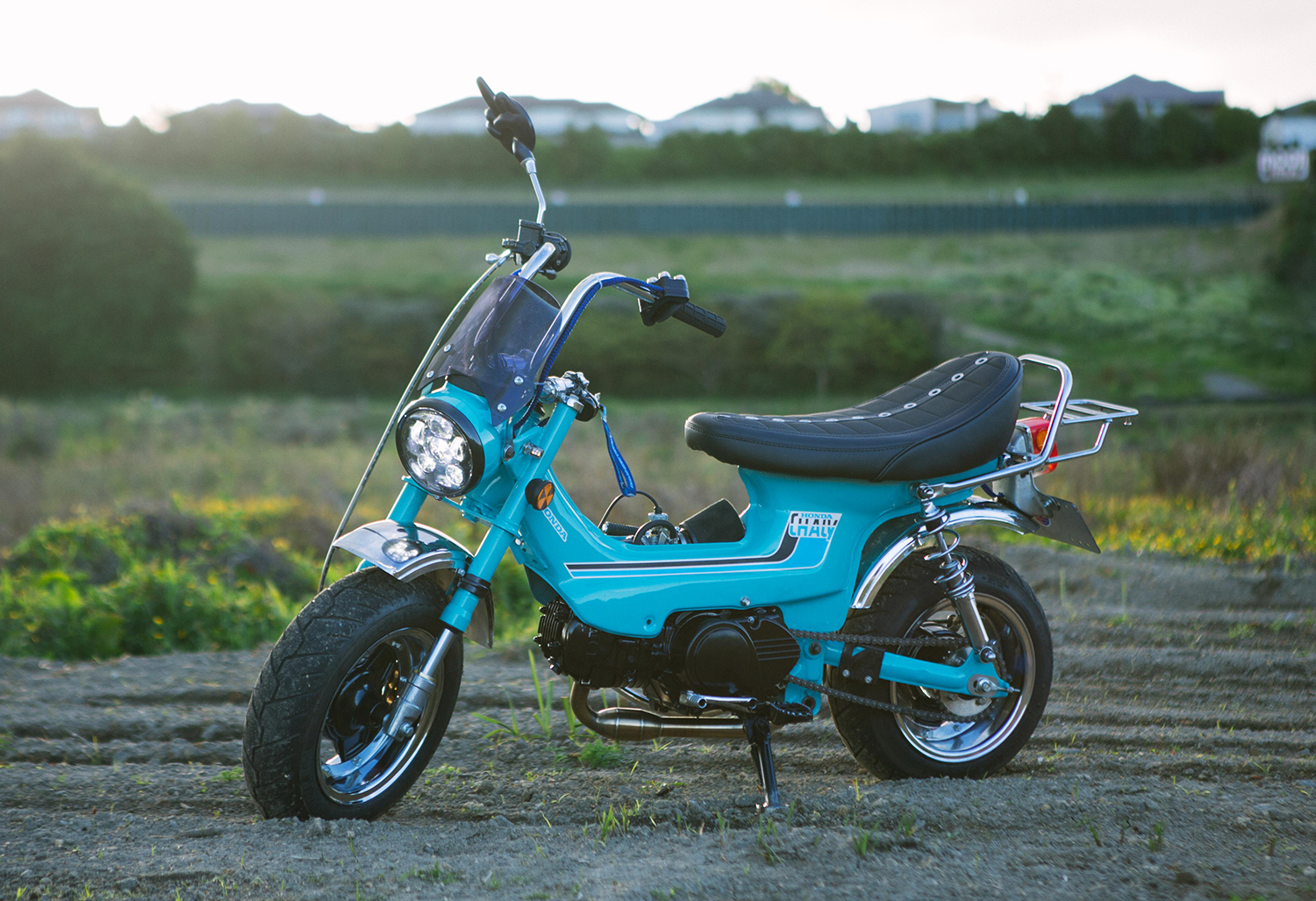 IT'S A SMALL WORLD: 1972 Honda Chaly