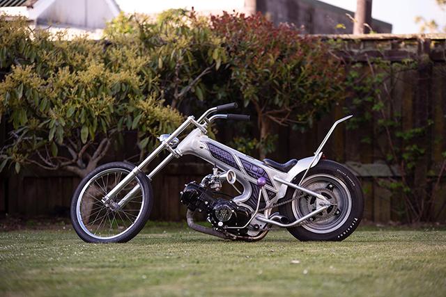 IT'S A BABY CHOPPER, BABY: 1970 Honda DAX