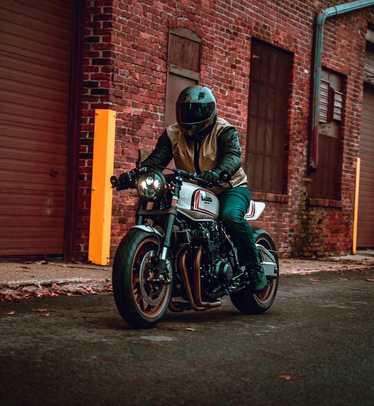 THE LONG HAUL: Honda CB750 by Cody Fagan