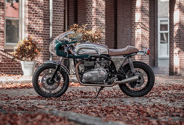 TWENTY-FIRST CENTURY TRITON by Icon Motorcycles